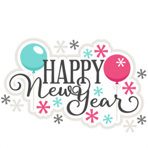 New Year clipart cute Cute cricut Happy file files