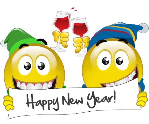 New Year clipart emoji New Smileys Year Year Happy