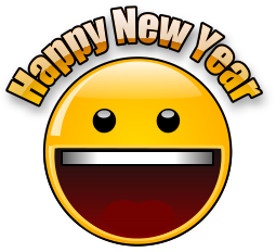 New Year clipart emoji Clipart animated year Animated happy