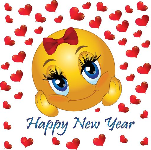 New Year clipart emoji Best Year Happy Icons Smiley