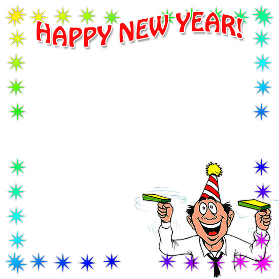 New Year clipart frame Year Year Art New Year