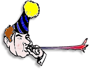 Birthday clipart noise maker Free Domain Birthday Hat Hat