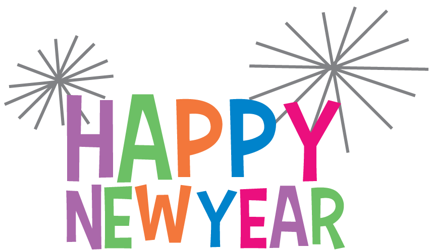 Small clipart happy new year Clip Year January For Clip