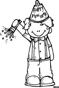 New Year clipart melonheadz Illustrating Melonheadz  Year! Clipart