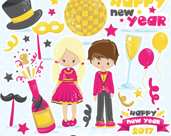 New Year clipart mexican New New Instant eve Clipart