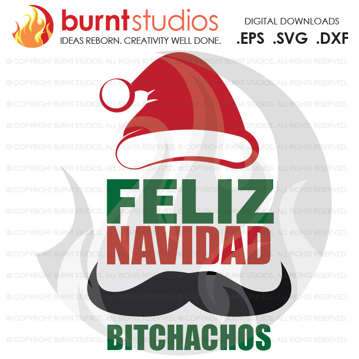 New Year clipart mexican Navidad Mustache File Feliz Christmas