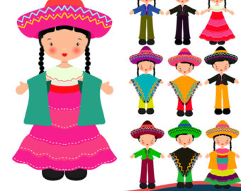 New Year clipart mexican Clipart eve Clipart Children Instant