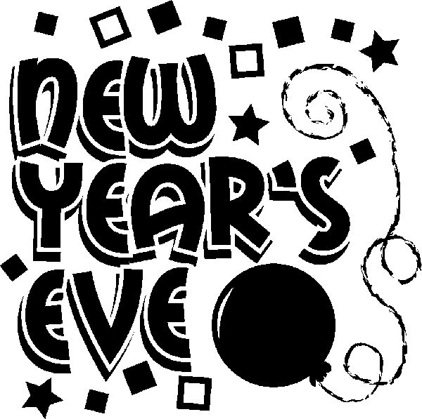 Party clipart new year's eve Com Years Eve New art