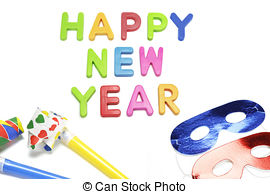 New Year clipart party favors Party Happy   Party