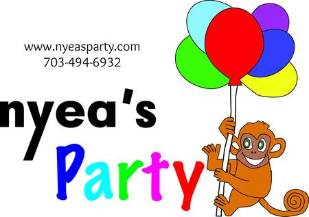 New Year clipart party supply – Balloon Eve Nyea's Party