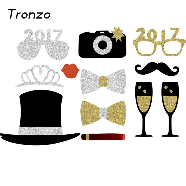 New Year clipart party supply Decoration Glasses 2017 Booth Party
