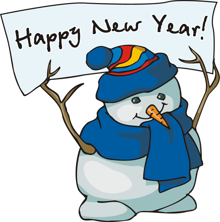 New Year clipart pencil Clip Happy New Qhy39l 2014