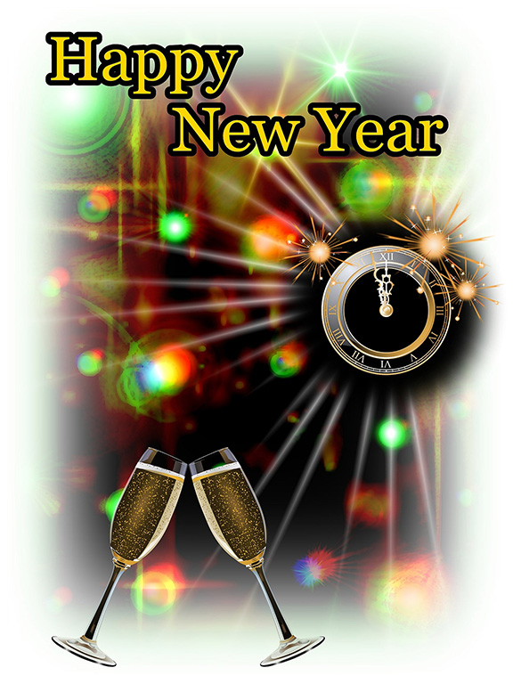 New Year clipart pencil Art new party year Years