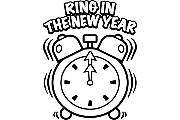 New Year clipart pencil For Year kindergarten Happy Archives