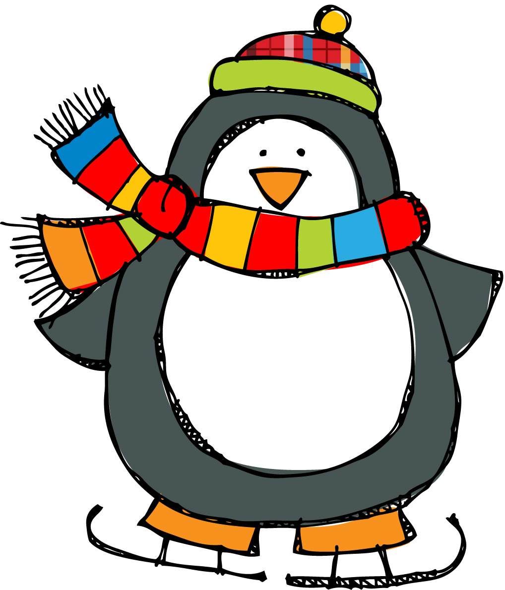 Penguin clipart banner Year pictures year clipart