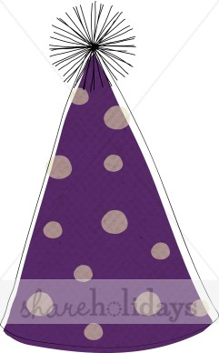 New Year clipart purple Clipart Hats Years New