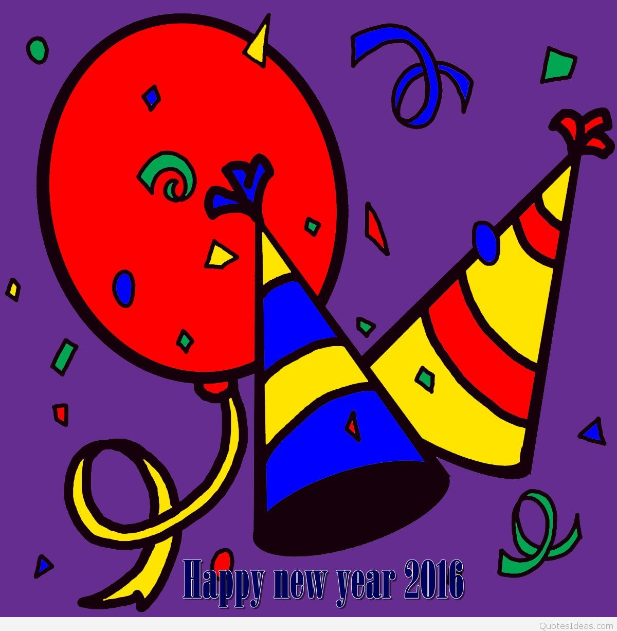 New Year clipart purple Art clip banner Free year