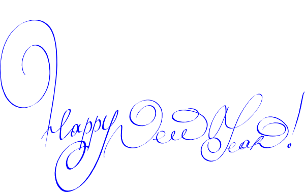Small clipart happy new year Online image Clip New vector