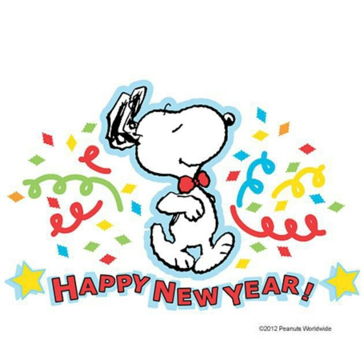 Snoopy clipart new year Year clipart microsoft clipart new