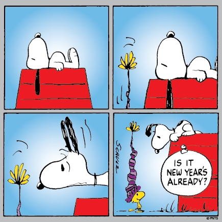 New Year clipart snoopy 25+ on Woodstock Already Doghouse