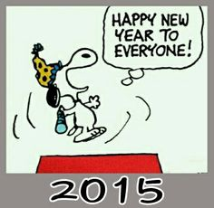 New Year clipart snoopy Year happy peanuts (27+) clipart
