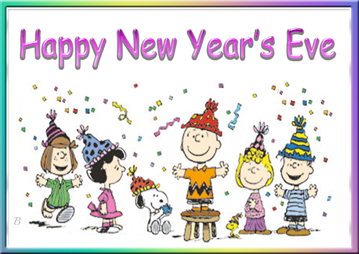 Snoopy clipart new year For Eve New Years Happy