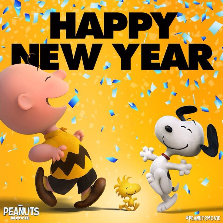 New Year clipart snoopy Year more Happy Pin Snoopy