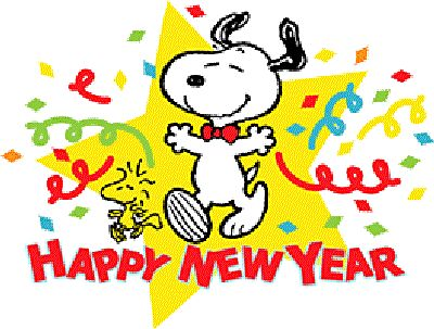 New Year clipart snoopy Happy on snoopy Snoopy pictures