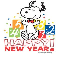 New Year clipart snoopy Eve Happy New Year woo