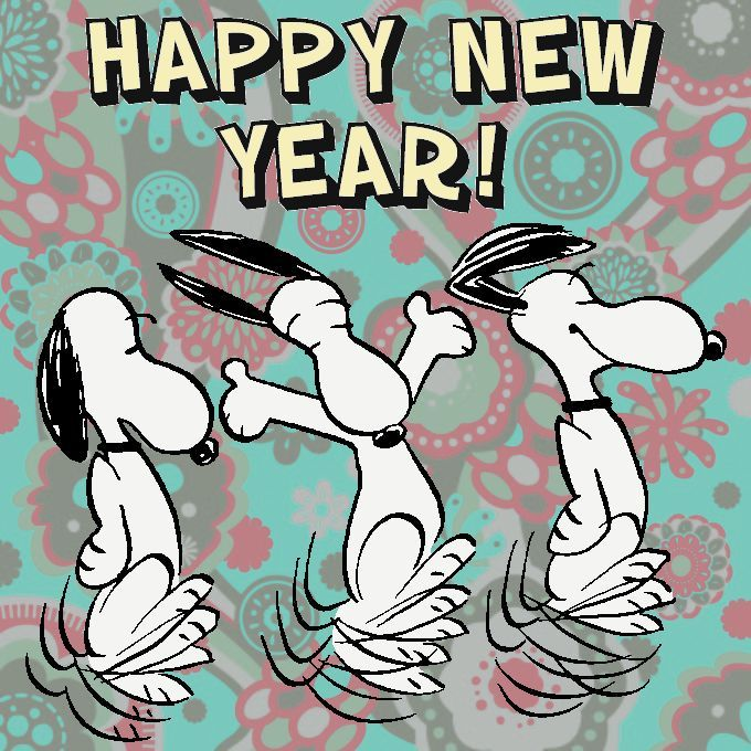 New Year clipart snoopy  Snoopy Images New and