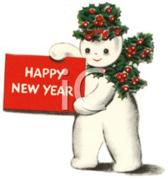 Snowman clipart new year Animated 3587 Year New Year
