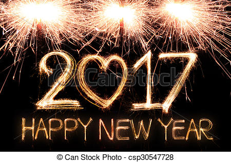 New Year clipart sparkler Art – Happy Year New