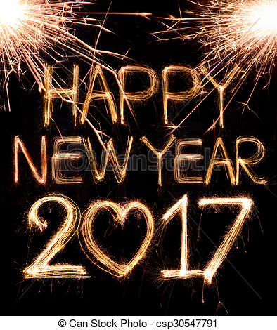 New Year clipart sparkler (06) Holidays! 2017 Year New
