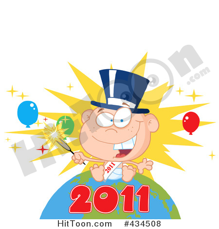 New Year clipart sparkler On (RF) Year #434508: a