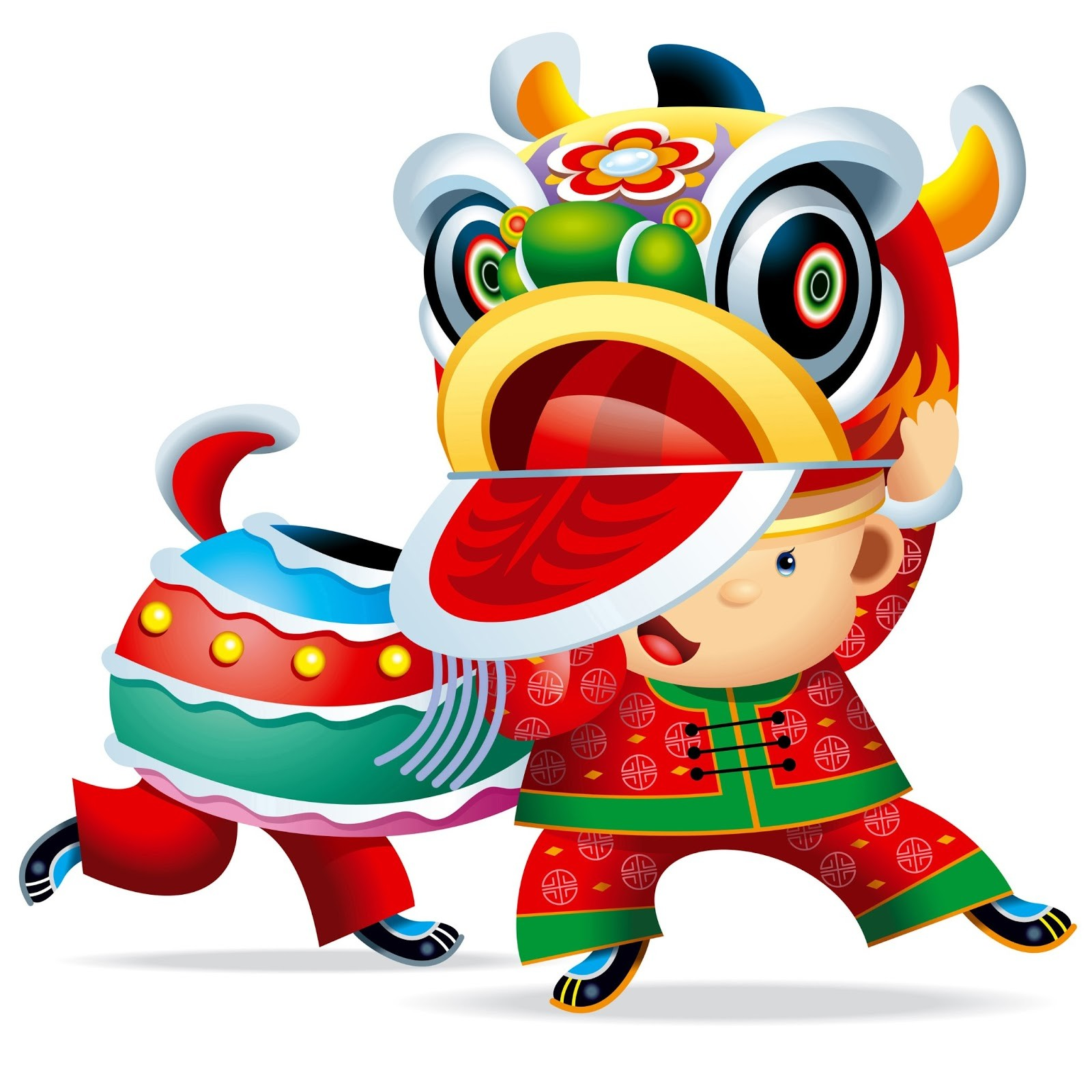 Asians clipart chinese dragon parade Lunar New Clipart  Resolution