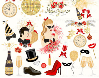 New Year clipart tiara Year's New Eve Eve clip