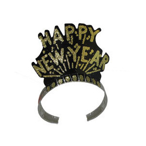 New Year clipart tiara Happy 411 Black and Year