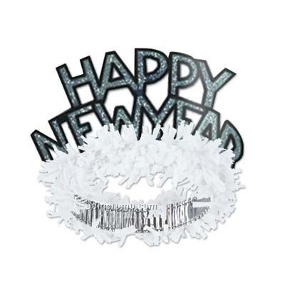 New Year clipart tiara White Silver New China Silver