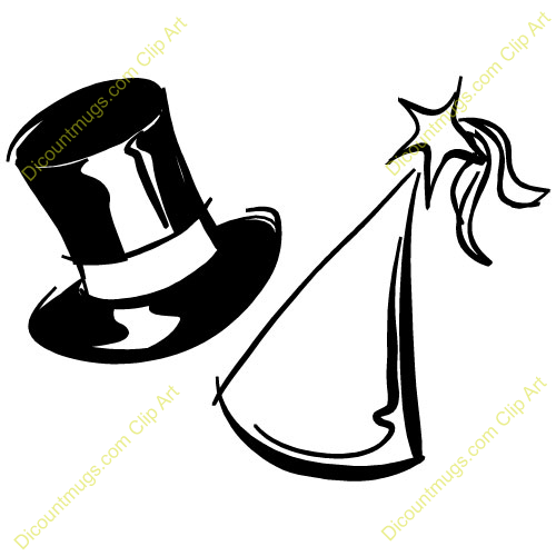 New Year clipart top hat Top Panda Hat Images Free