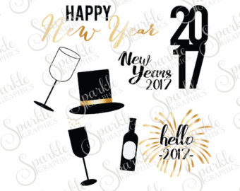 New Year clipart top hat Years Years Hat years Clipart