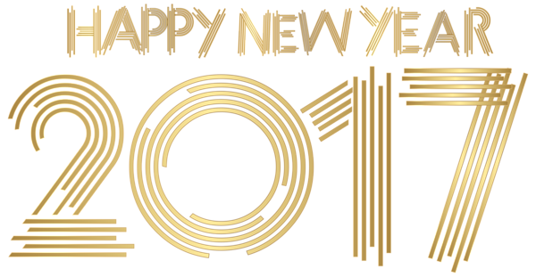 New Year clipart transparent Clip Year Gold Clip Transparent