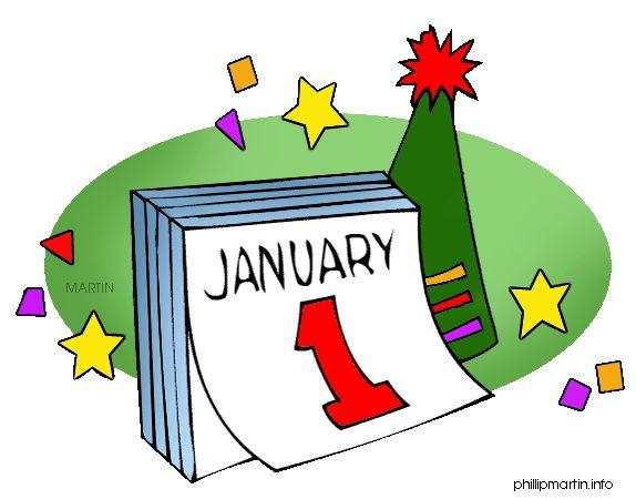 Holydays clipart calendar #2