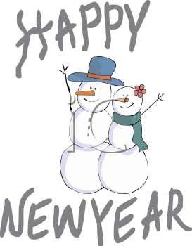 Woman clipart snowman Holidays! New Happy Clipart Happy