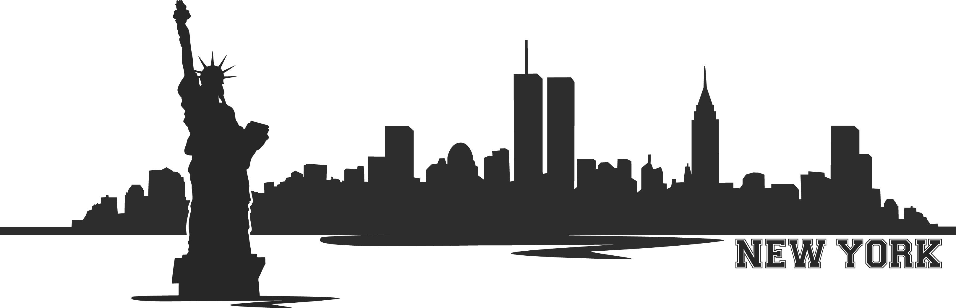 New York clipart New York Art Flag Skyline