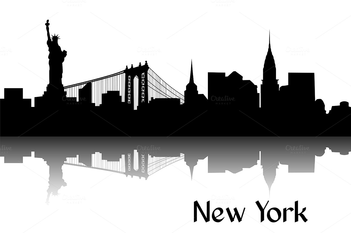 New York clipart New York Buildings Clipart York  Skyline New Art