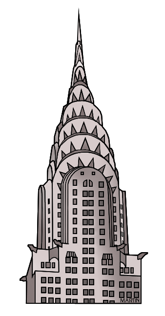 New York clipart New York Buildings Clipart York Building New Martin