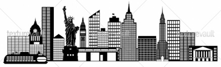 Panorama clipart city building #5