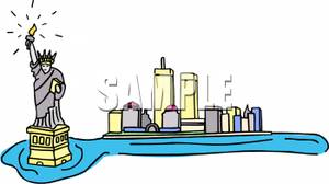 Statue Of Liberty clipart new york city Free City of  City