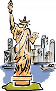 Statue Of Liberty clipart new york city The Royalty Liberty Clipart Free