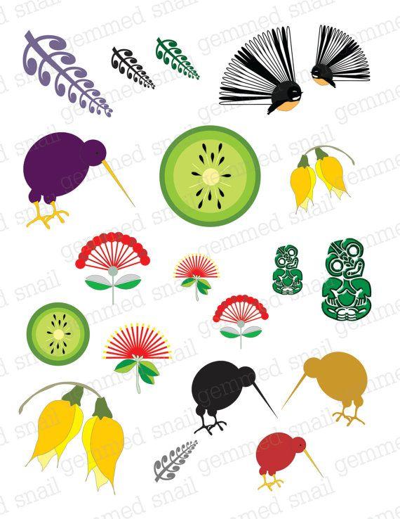 New Zealand clipart 73 Foodie Hot EmbellishmentsNew Cardmaking